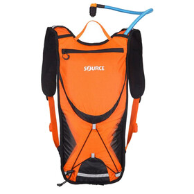 SOURCE Brisk Trinkrucksack 3l Orange/Black